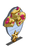Raspberry Blondie 1 Star Mastery Sign-icon