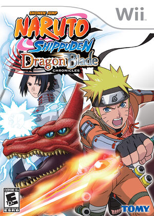 Naruto shippuden dragon blade chronicles cover