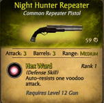 Night hunter repeater
