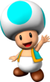 Cyan Toad NSMBVR