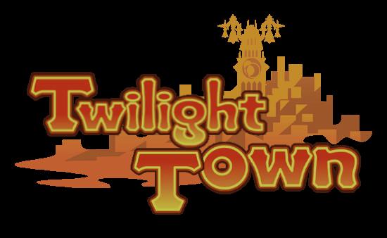 Villa Crepúsculo: Historia y NPCs Twilight_Town_Logo_KHCOM