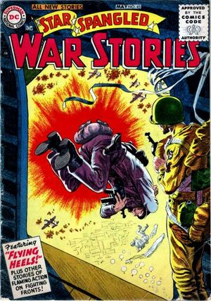 Cover for Star-Spangled War Stories #45
