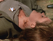 Janeway, neck burn