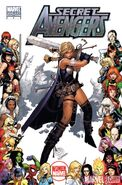 Secret Avengers Vol 1 4 Women of Marvel Variant