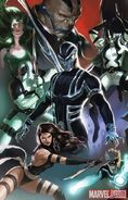 Uncanny X-Force Vol 1 1 Textless Marko Djurdjevic Variant