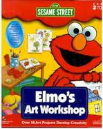 Elmosartworkshopcreativewonders1998frontcover