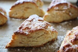 Rice flour scones