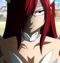 Erza&#39;s anger