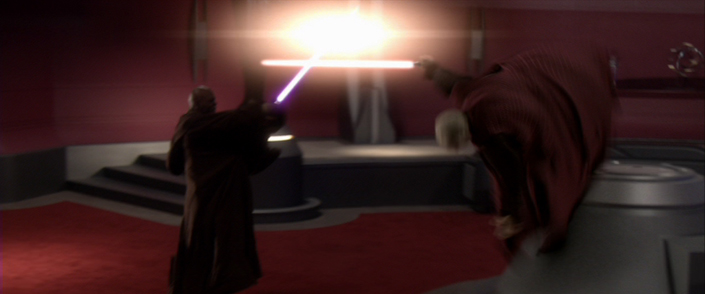 dark sidious vs mace windu