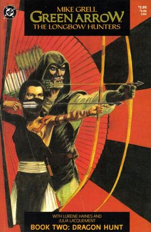 Cover for Green Arrow: The Longbow Hunters #2