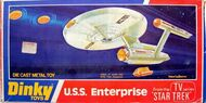 Dinky Toys No.358 USS Enterprise Diecast box 1977