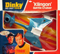 Dinky Toys Klingon Battle Cruiser bubblepack 1977.jpg