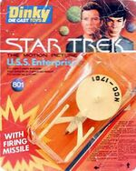 Dinky Toys No.801 USS Enterprise-A 1980