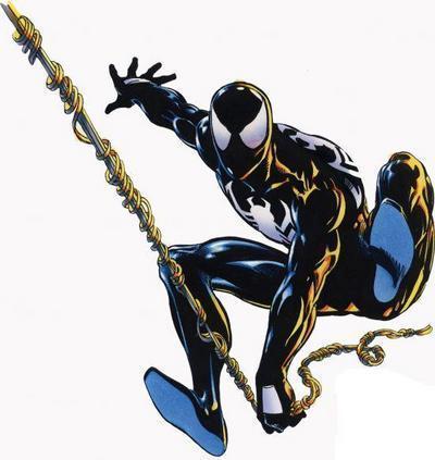 Black Spiderman Comic The Black Suit  1984