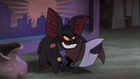 Fidget the peglegged bat