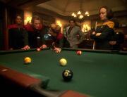 Janeway plays Pool