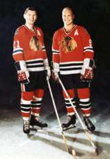 Bobby Hull Blackhawks 16 Article:Best duos in s...