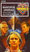 Mawdryn Undead VHS Australian cover