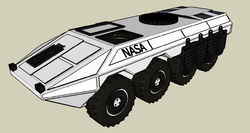 NASA Lunar Expeditionary Vehicle