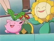 EP180 Hoppip, Bellossom y Sunflora