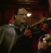 Cardassian at Dominion headquarters 7
