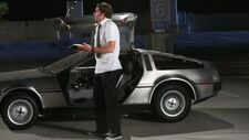 Chuck ja DeLorean!