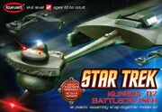 Polar Lights Model kit POL806 Klingon Battle Cruiser first issue 2008