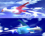 Latias y Latios SSBB