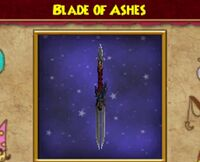 Blade of ashes athame