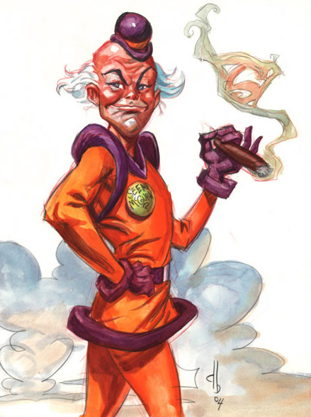 Mxyzptlk - Superman Wiki Red Son Justice League