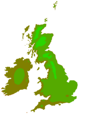 UK Hardiness 7 to 10