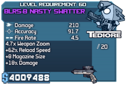 Blr5-b nasty repeater
