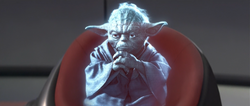 Yoda hologram