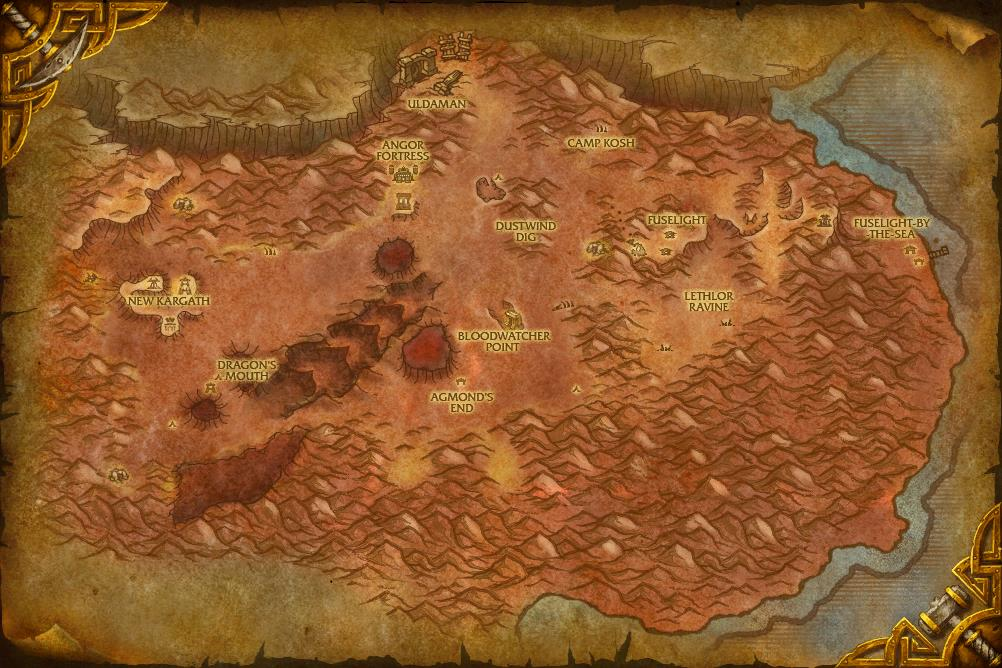 wow how to get to badlands from stormwind