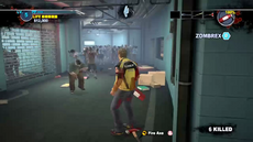 Dead rising 2 intro fire axe second in corridor