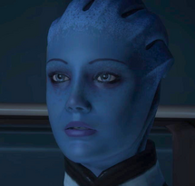 Liara Character Shot