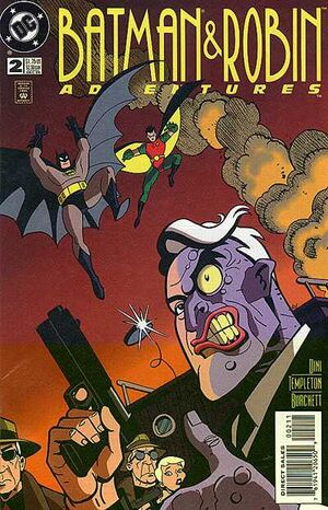 Cover for Batman & Robin Adventures #2