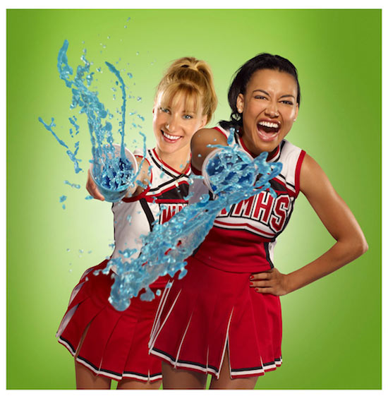 brittany and santana from glee dating