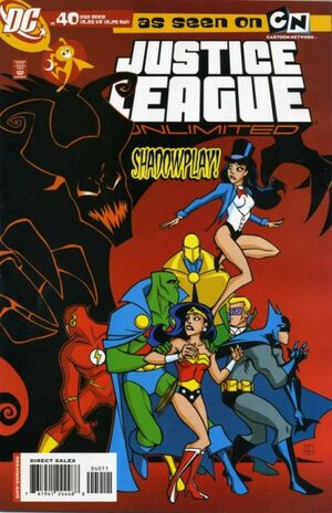 Cover for Justice League Unlimited #40