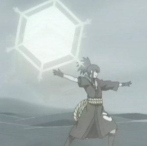 Elemento Cristal Shuriken Hexagonal Gigante