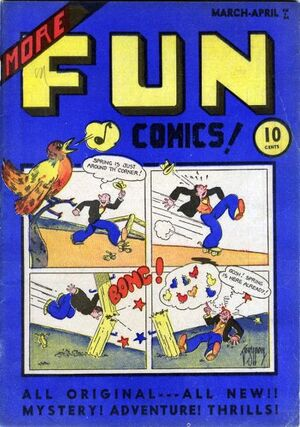 Cover for More Fun Comics #9
