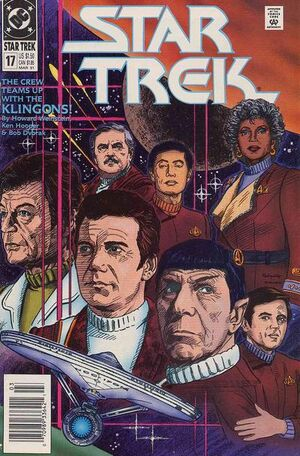 Cover for Star Trek #17