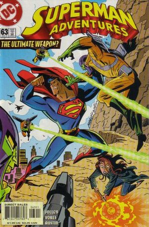 Cover for Superman Adventures #63