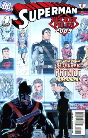 Cover for Superman: Secret Files 2009 #1