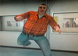 Dead Rising Ronald Shiner jumps