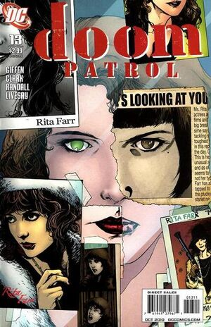 Cover for Doom Patrol #13