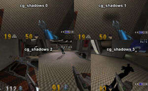 Cg shadows