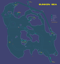 Sunken Sea Map