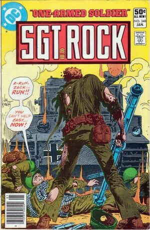 Cover for Sgt. Rock #348