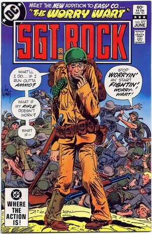 Cover for Sgt. Rock #377